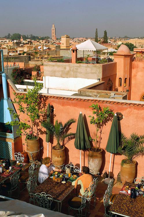 Riad Borj dar Lamane, Guesthouse, Hotel, Old Town, Medina, Marrakesh, Morocco
