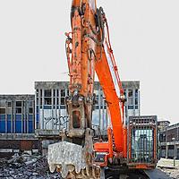 2012 Linwood Shopping Center Demolition