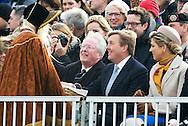 SCHEVENINGEN – NETHERLANDS – King Willem Alexander and Queen Maxima during the celebration of 200 years kingdom in the Netherlands on  the beach of Scheveningen . COPYRIGHT ROBIN UTRECHT