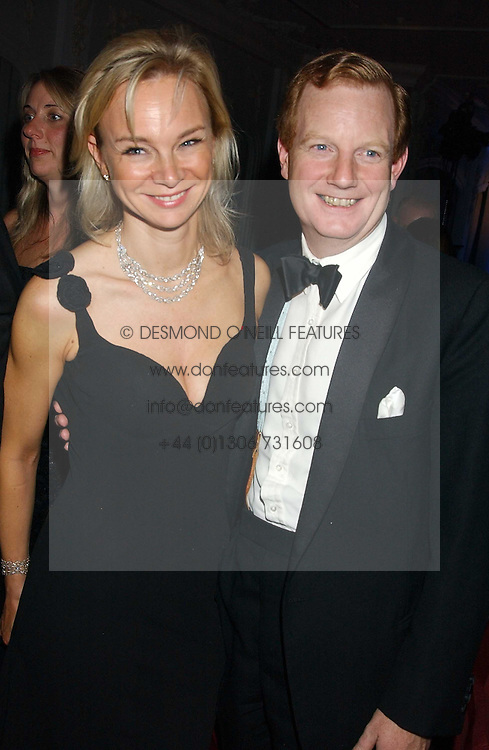 The EARL &amp; COUNTESS OF DERBY at the Cartier Racing Awards held at the Four Seasons Hotel, Hamilton Place, London W1 on 16th November 2005.<br />