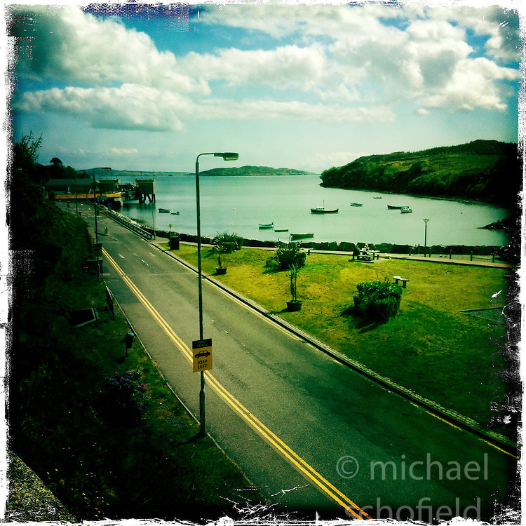 Tarbert, Harris..Hipstamatic images taken on an Apple iPhone..©Michael Schofield.