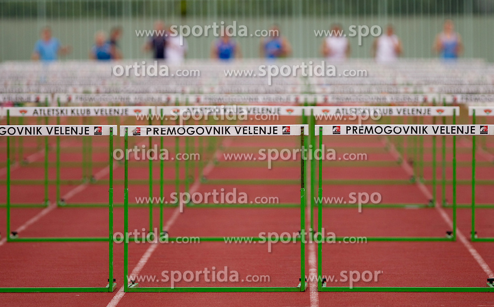 Hurdles at Slovenian National Championships in athletics 2010, on July 17, 2010 in Velenje, Slovenia. (Photo by Vid Ponikvar / Sportida)