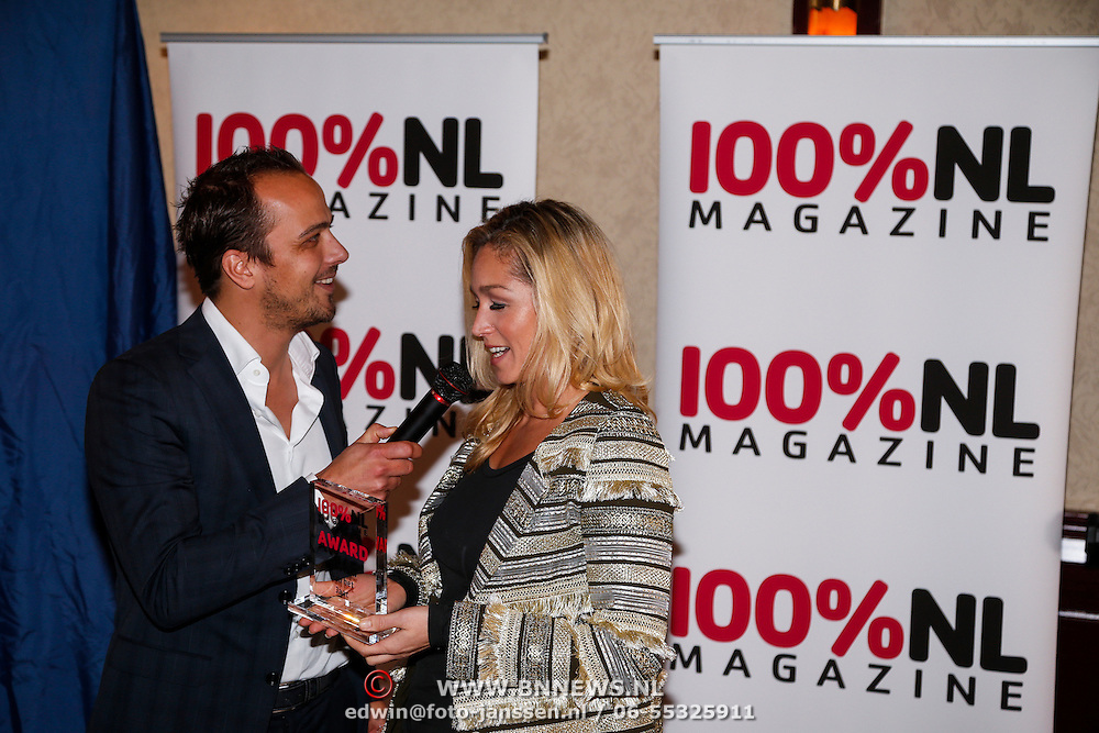 NLD/Volendam/20121025 - Uitreiking 100% NL Awards 2012, Geert Hoes en Do, Dominique van Hulst