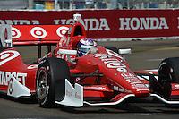 Scott Dixon, Honda Grand Prix of St. Petersburg, Streets of St. Petersburg, St. Petersburg, FL USA 03/24/13