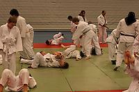 Afghan trainers visiting Tynset Judo club (march 2007)....-....Afghanske trenere holder trening på Tynset judoklubb