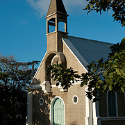 Mauritius. Church at Tamarin.