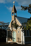 Mauritius. Church at Tamarin.