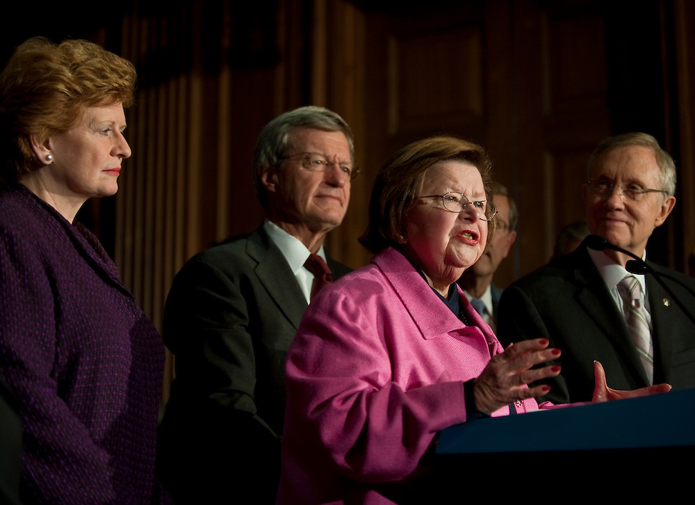 Mar 25,2010 - Washington, District of Columbia USA - .The Senate passed the slightly altered health care  bill Thursday, sending it back to the House of Representatives..Two minor provisions were removed due to a Republican challenge but they will not affect the health care law signed by President Obama on Tuesday..(Credit Image: © Pete Marovich/ZUMA Press)
