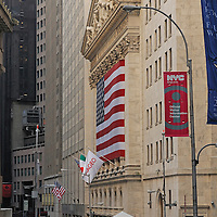 New York Stock Exchange, Financial District, Manhattan, New York, New York, USA