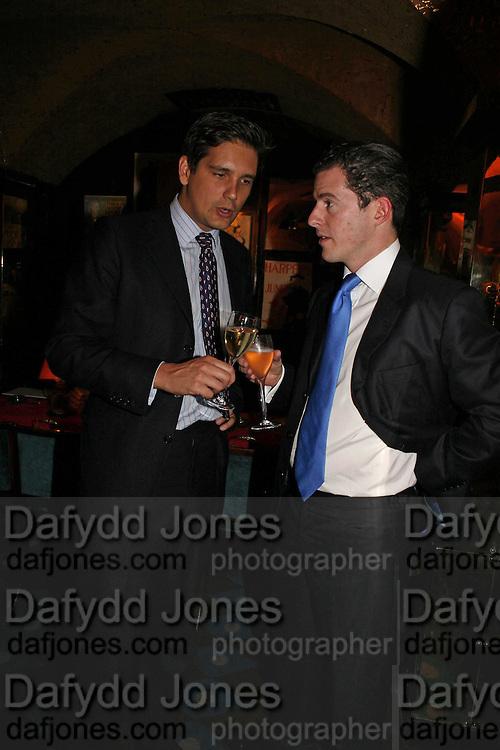 Rupert Edis and Crispin Jameson   Dafydd Jones