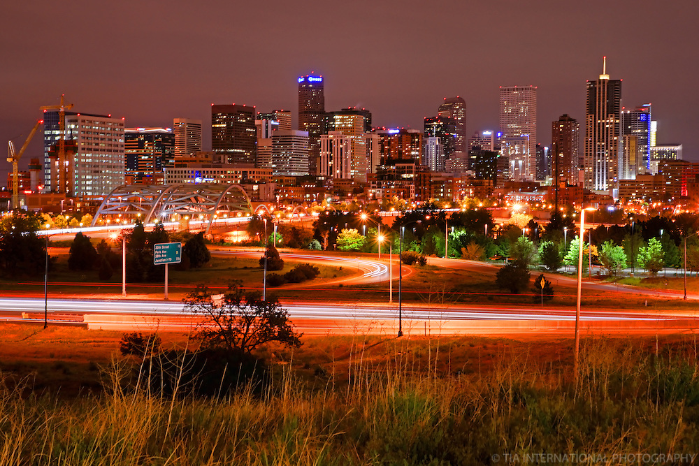 Denver Skyline @ Night