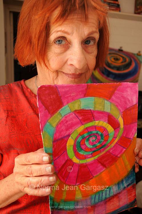 Janice Ambrose, artist, Tucson, Arizona, USA.