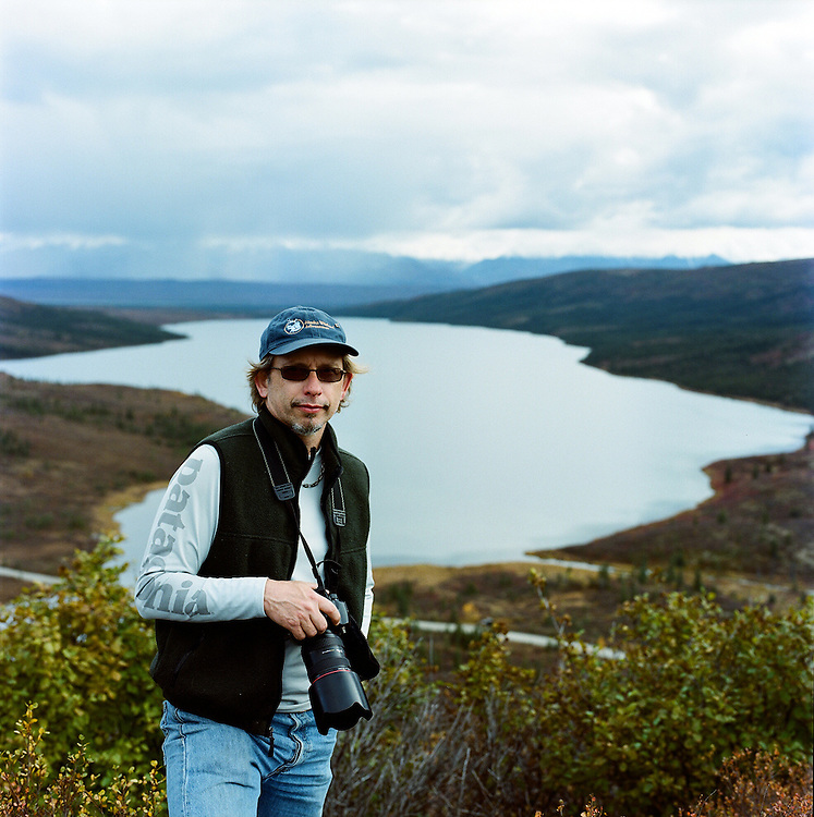 DENALI, AK - SEPTEMBER 2008: Anchorage, Alaska based photographer Wayde Carroll.