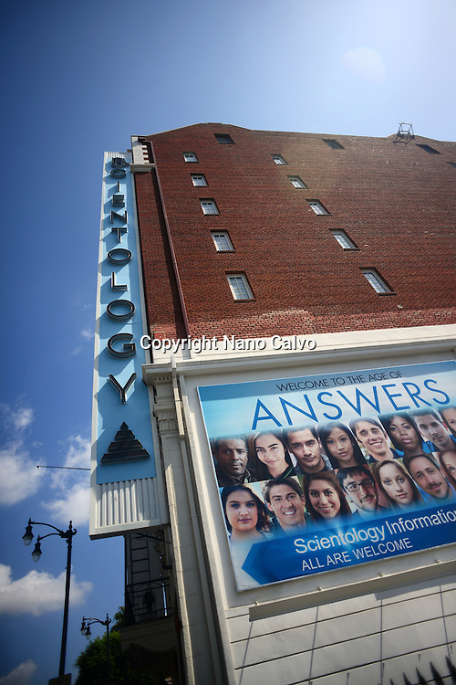 Church of Scientology International building at Hollywood Boulevard, Los Angeles, California.