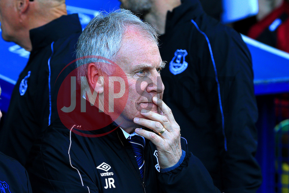 Everton Interim Manager Joe Royle - Mandatory byline: Matt McNulty/JMP - 15/05/2016 - FOOTBALL - Goodison Park - Liverpool, England - Everton v Norwich City - Barclays Premier League