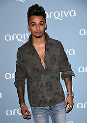 Aston Merrygold attends The Arqiva Commercial Radio Awards at The Round House, Chalk farm Road, London on Wednesday 8 July 2015