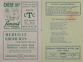 24.09.1944 All Ireland Senior Football Final Programme