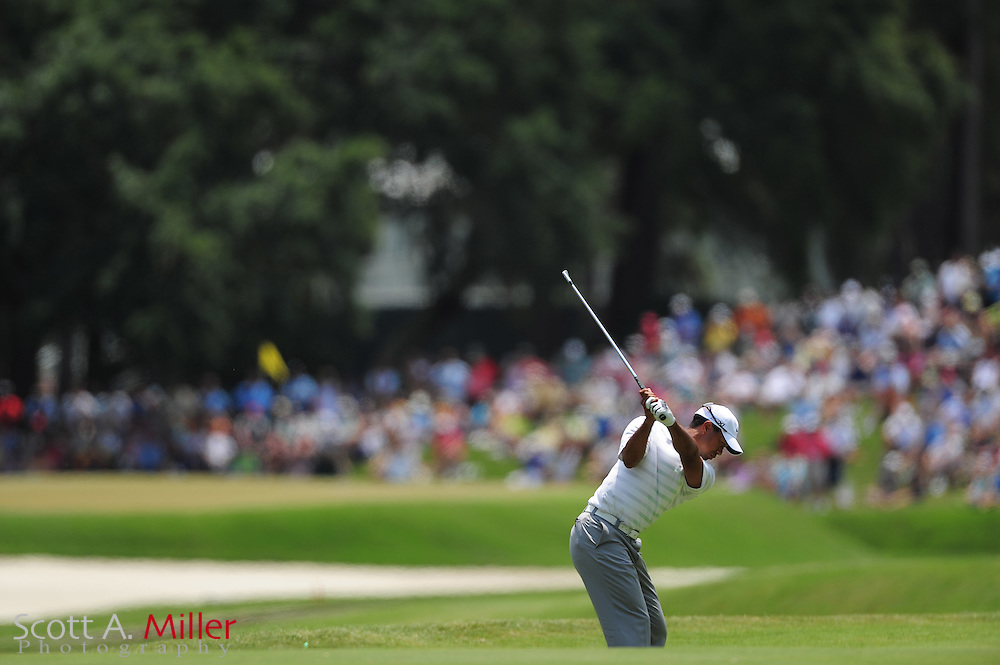 Tiger Woods during the third round of the Players Championship at the TPC Sawgrass on May 12, 2012 in Ponte Vedra, Fla. ..©2012 Scott A. Miller..