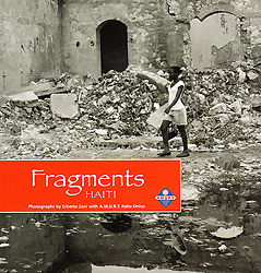 Fragments from a broken nation. It's not easy to describe Haiti. The scars of the earthquake, the dust that hangs in the air like a fog sticks in your throat, the shaken faces of people who have seen the worst side of tragedy. An inferno. Nor is it easy to understand Haiti. Desperation and intense pride walk hand in hand, the proud character of ex-slaves intermixes with a listlessness marked by disaster upon disaster. January 12, 2010, a catastrophic earthquake measuring 7.5 on the Richter scale strikes, causing 250,000 death and 3 million refugees. This earthquake was the last straw, the final blow that shattered all hope of improvement, every sign of progress in a society that had shakenoff its chains of physical slavery but not those of mental and economic slavery. Haiti, therefore, seems hopeless. But fortunately, it's isn't so ( ). This book does not pretend to tell the story of an entire nation. As the title says, &quot;Haiti: fragments&quot;, hopes to show, through images that are simply fragments of real life, the current situation in a broken nation, A nation on its kneees, trying to find itself by picking up the pieces.<br />