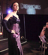 "Desi Shurelds performs a song from ""Dreamgirls"" .at the 2007 Arts Gala at Wright State University, Saturday evening.."
