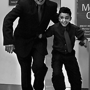 """Saleh and Raheem's joy was unbridled as they caught sight of Hadia and the children at San Francisco International Airport. """"There she is!"""" Saleh squealed as he and his father raced toward the long-awaited reunion. In his hand, Saleh held tight to the ring he'd bought as a present for his mother."""