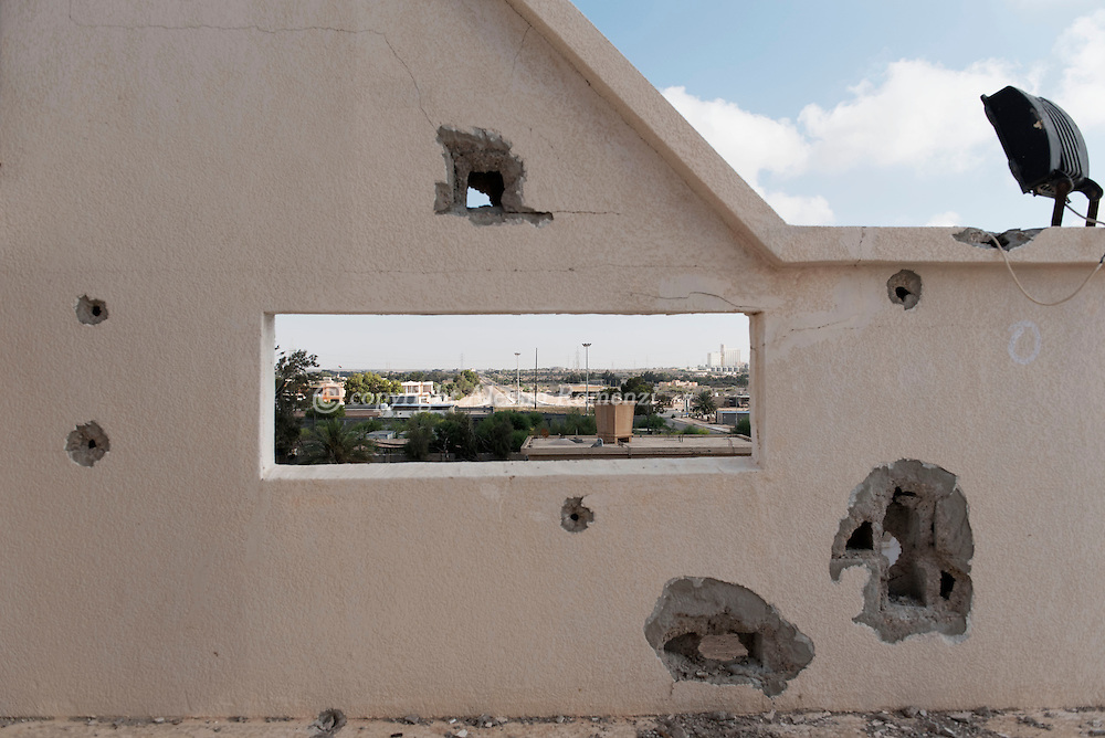 Libya: View of the western part of Sirte from a house used in the past by ISIS snipers. Alessio Romenzi