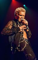 KELOWNA, CANADA - JULY 14: Billy Idol on July 14, 2016 at Prospera Place in Kelowna, British Columbia, Canada.  (Photo by Marissa Baecker)  *** Local Caption ***