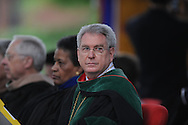 University of Mississippi Chancellor Dan Jones speaks at graduation in Oxford, Miss. on Saturday, May 11, 2013.