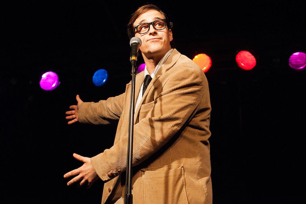 Travis Irvine as Woody Allen - Schtick or Treat 2013 - Littlefield, Brooklyn - October 27, 2013