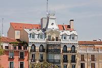 buildings around plaza de oriente madrid