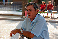 Man on bicycle in Bocas, Holguin, Cuba.