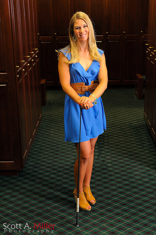 Jessi Gebhardt during a portrait shoot prior to the Symetra Tour's Florida's Natural Charity Classic at the Lake Region Yacht and Country Club on March 20, 2012 in Winter Haven, Fla. ..©2012 Scott A. Miller.