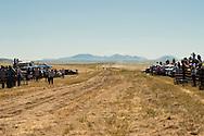 Fort Belknap Indian Reservation, Montana, Milk River Memorial Horse Races, One Mile Youth Race, winner Tevin Horn, Assiniboine..