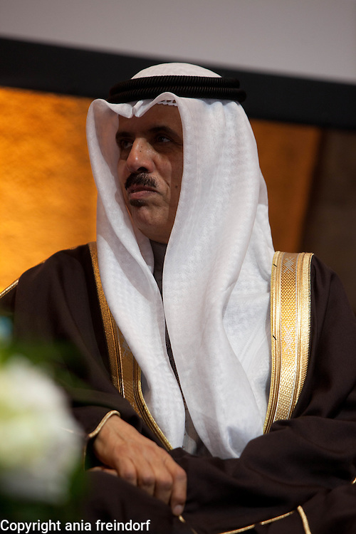 UNESCO - King Hamad Bin Isa Al-Khalifa Prize, for the use of Information and Communication Technologies in Education, Paris, France. H.E. Majid Bin Ali Al-Nuami, Minister of Education, the Kingdom of Bahrain.