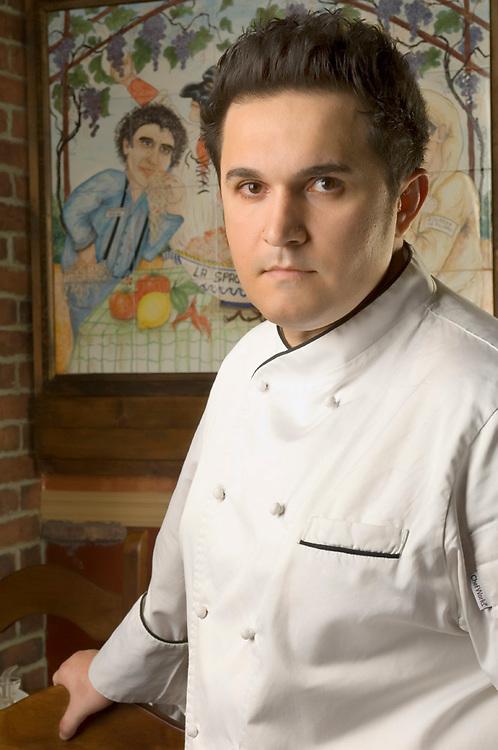 Executive Chef Andrea DiMeglia of Luca's Ristorante
