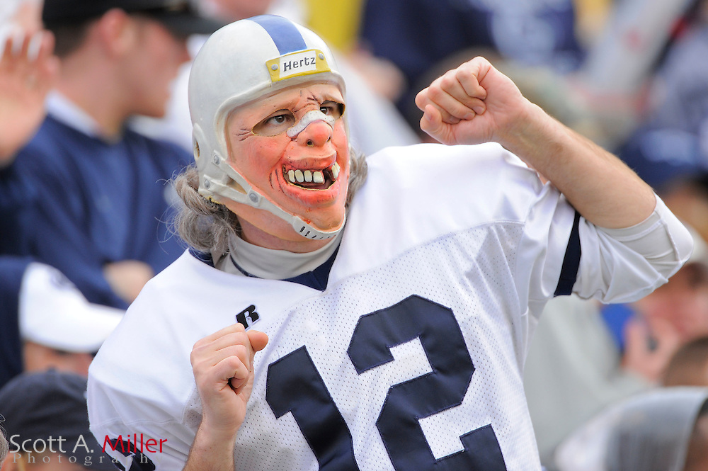 Jan. 1, 2010; Orlando, FL, USA; A Penn State Nittany Lions fan during the Nittany Lions 19-17 win over the LSU Tigers in the 2009 Capital One Bowl at the Citrus Bowl. ©2010 Scott A. Miller
