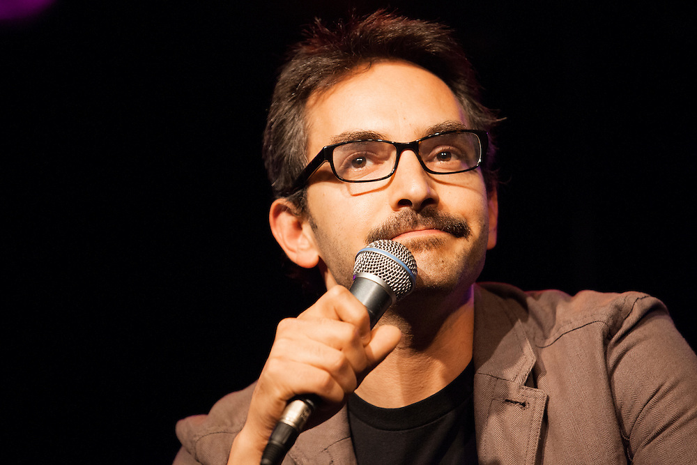 Myq Kaplan as Marc Maron - Schtick or Treat 2013 - Littlefield, Brooklyn - October 27, 2013
