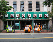 Organic Transit headquarts on Chapel Hill Street in Durham, N.C., Friday, May 24, 2013