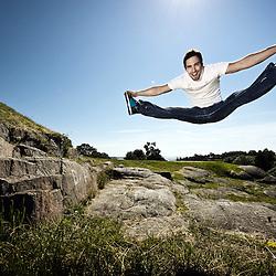 Aerobics European Champion 2012 Juuso Väisänen.