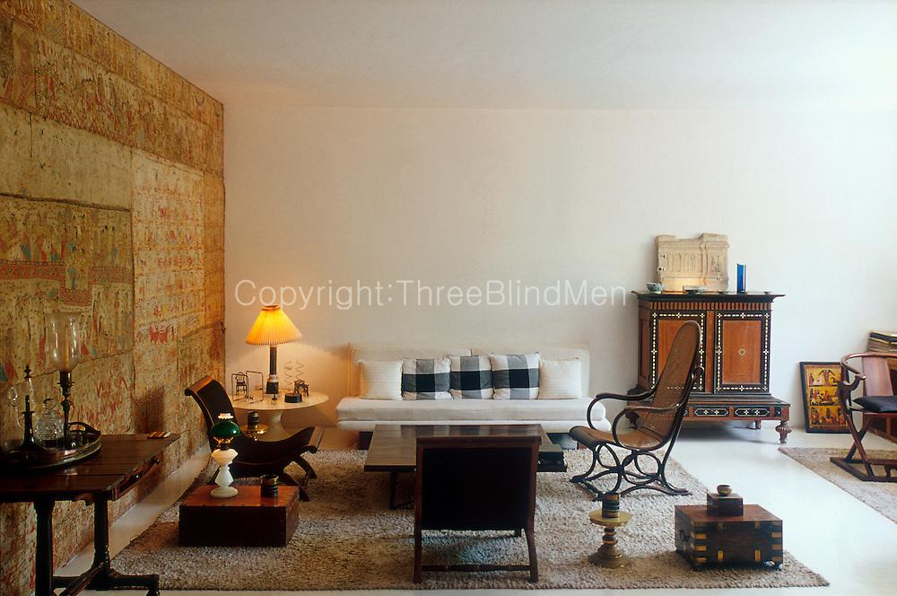 Geoffrey Bawa's Colombo home. 33rd Lane, off Bagatelle Road.