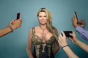(Photo by MELISSA LYTTLE / 4/29/15 / for VICE Magazine and Broadly)<br /> <br /> Jackie Siegel is the Queen of Versailles. Versailles is the nickname of the 90,000-square foot mansion that's being billed as the largest house in America, and has been under construction since 2008. It's being built  in the Orlando area, by Jackie and her husband David A. Siegel, founder of Westgate Resorts Ltd, a Florida based timeshare resort firm.
