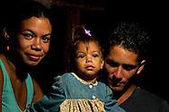 Family near La Maquina, Guantanamo, Guantanamo, Cuba.