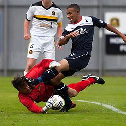 Dumbarton 1 v 1 Falkirk, Scottish Championship, 10/8/2013.