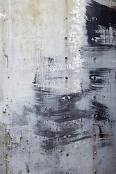 abstract of painted metal