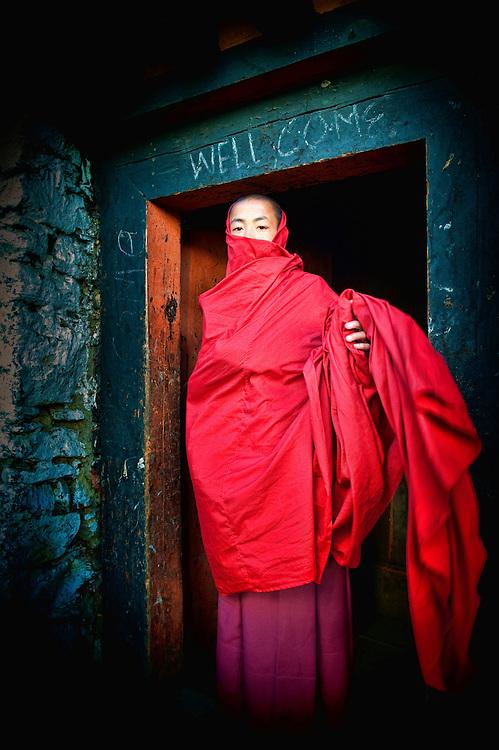 Asia, Bhutan, Gasa, Tsechu, Dzong