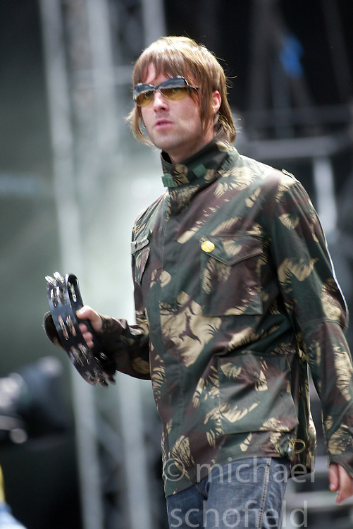 T in the Park, 13th July 2002. | Michael Schofield Liam Gallagher