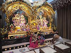 NOV 03 2013 Diwali festival Hare Krishna Temple