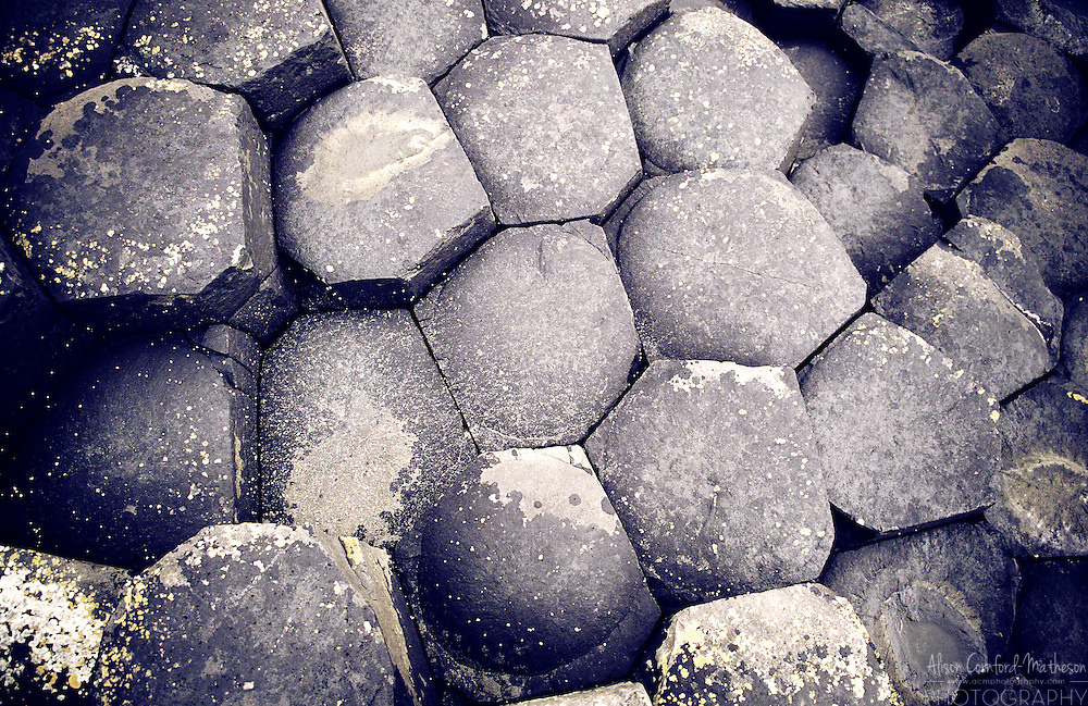 The Giant's Causeway is a natural wonder made up of 40,000 interlocking basalt columns.