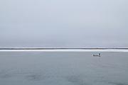 Tom cod fishing in Kivalina, Alaska. 2009