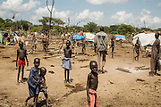 Cattle camps near Bor, South Sudan.